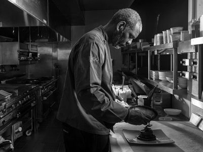 "Grits, Fried Chicken and Gospel Brunch - Chef David Lawrence Discusses Life at ""1300 on Fillmore"""