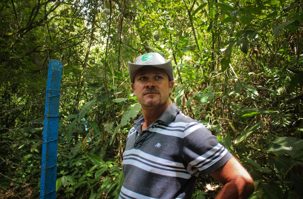 Luis Fernando Vasquez has been a coffee farmer in the central valley of Costa Rica his entire life. Photo: Dan Charles/NPR