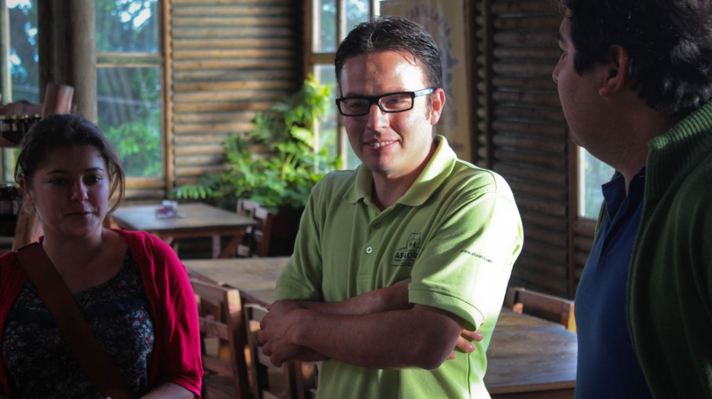 Christian Mora is the general manager of AFAORCA, a fair trade coffee cooperative in Costa Rica. Photo: Dan Charles/NPR