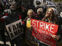 NYC's Fast-Food Workers Strike, Demand 'Living Wages'