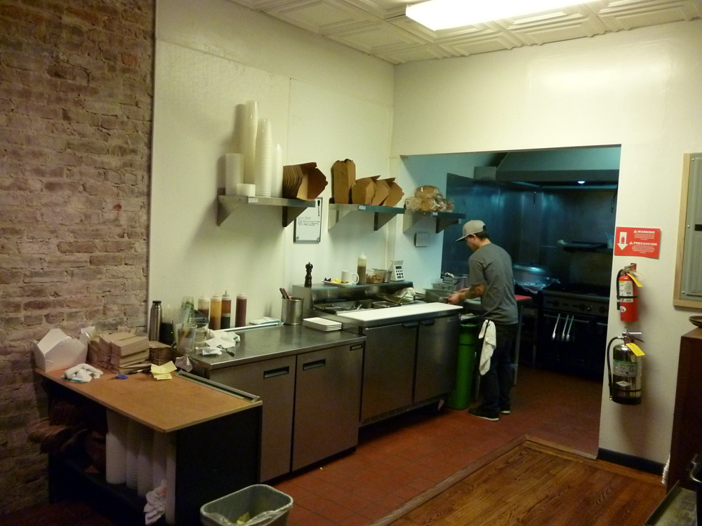 Open Kitchen at Shorty Goldstein's