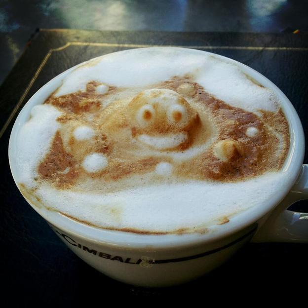 Foam monster. Photo: Courtesy of Kazuki Yamamoto