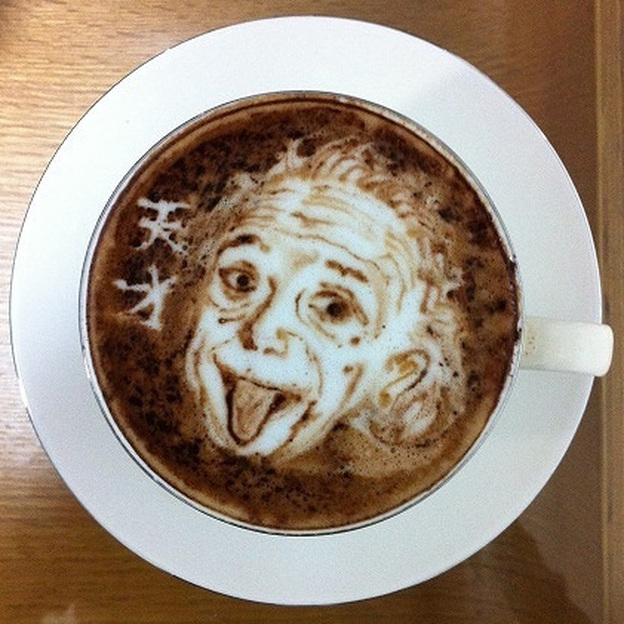 Einstein. Photo: Courtesy of Kohei Matsuno