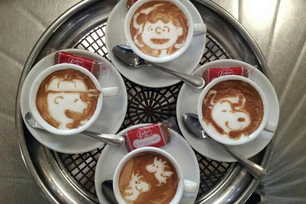 The Peanuts cast. Photo: Courtesy of Kazuki Yamamoto