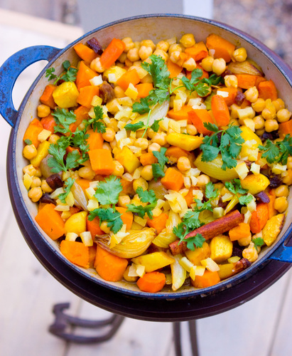 Root Vegetable Couscous With Preserved Lemon. Photo: T. Susan Chang for NPR