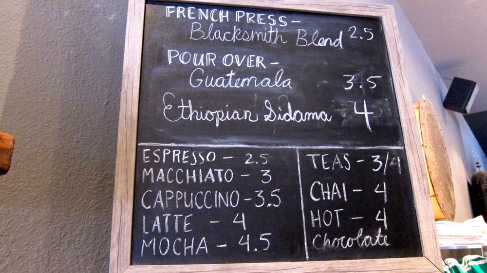 stanza menu