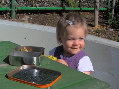 Baby & Toddler On The Go: fresh, homemade foods for a busy life (VIDEO)