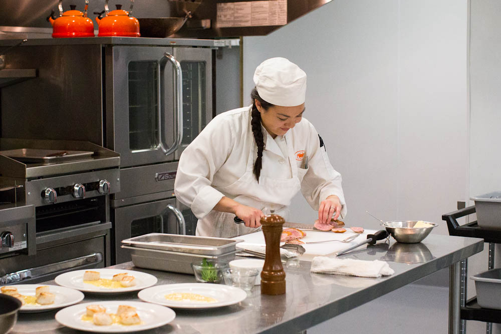 Stephanie Hua, SF Cooking School