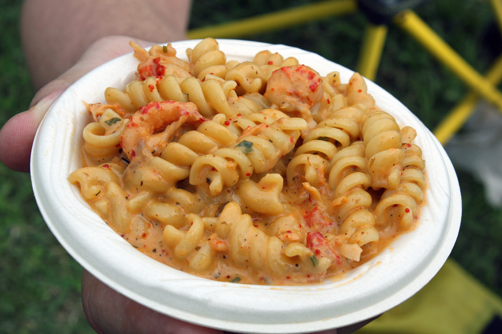 blend of picked crawfish, rotini pasta and a spiced cream reduction. Photo credit: Tilde Herrera