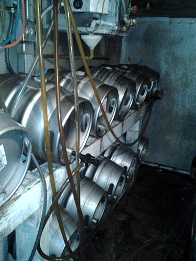 Magnolia's kegs