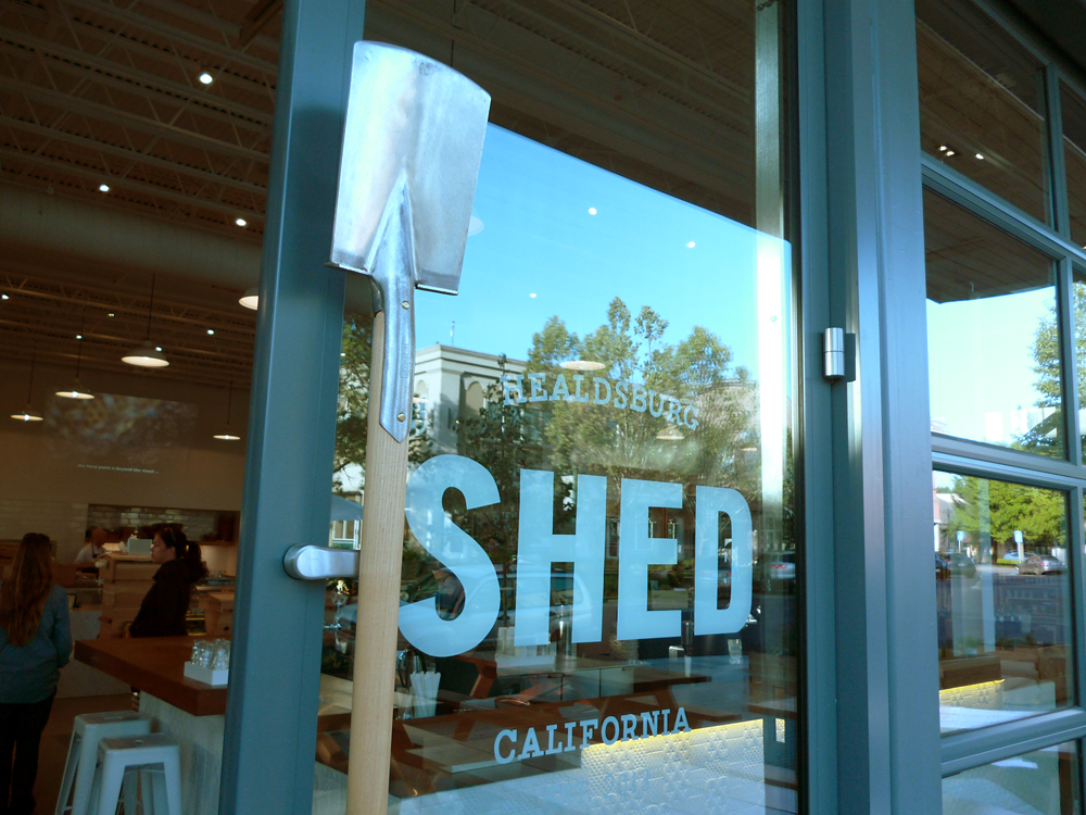 First Impression: Healdsburg SHED