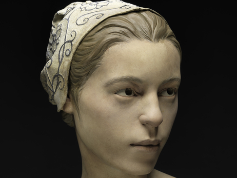 "This forensic facial reconstruction shows what the 14-year-old, nicknamed ""Jane,"" may have looked like. Scientists say the remains found at Jamestown are evidence of cannibalism over the winter of 1609-1610. Photo: Donald E. Hurlbert/Smithsonian"
