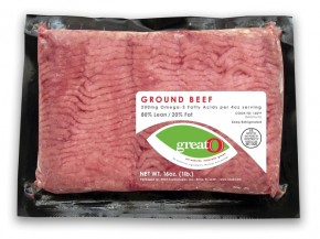NBO3 launched its enriched ground beef at the Tops grocery chain in New York in March. Photo: Courtesy of NBO3