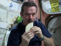 Chris Hadfield: Space Chef In Chief
