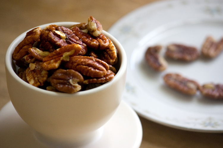 Slow-Roasted Butter Pecans. Photo: T. Susan Chang for NPR