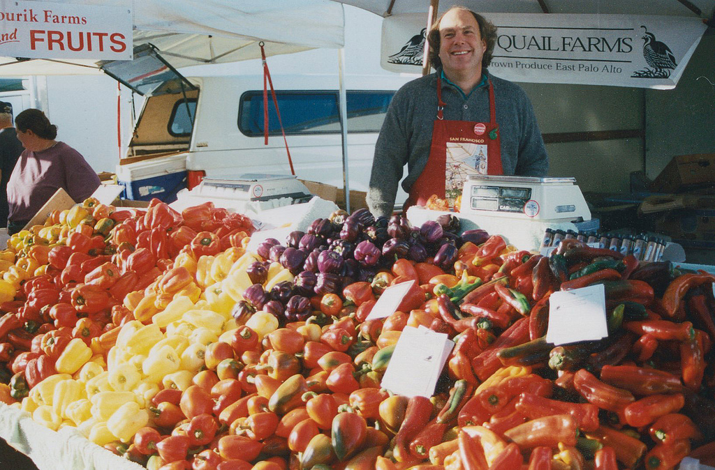 David Winsburg of Happy Quail Farms, who helped create the craze for padron peppers. Photo: Courtesy of CUESA