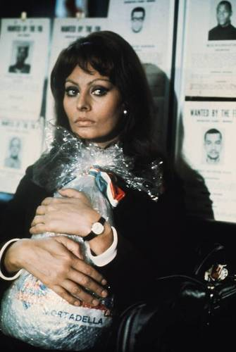 Even Sophia Loren felt compelled to smuggle mortadella, despite a U.S. ban -- well, her character did, anyway, in the 1971 film Lady Liberty. Photo: Warner Bros/The Kobal Collection