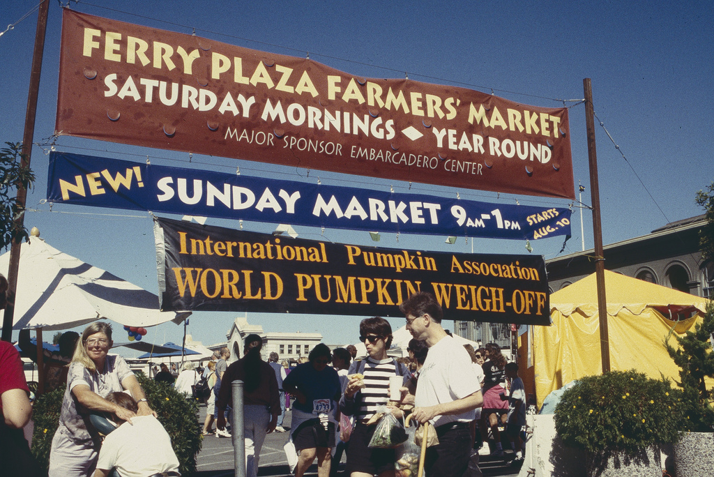 Autumn market sign. Photo: Courtesy of CUESA