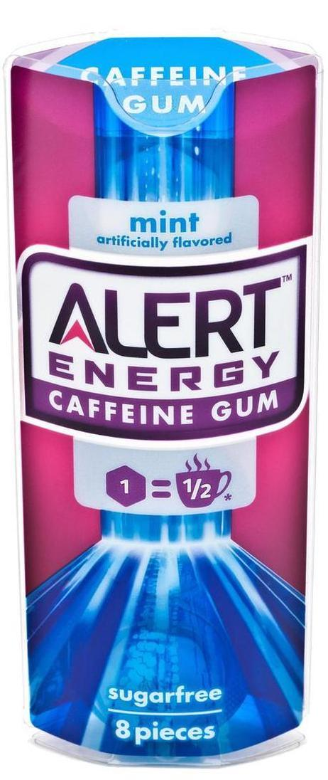 Wrigley took its new Alert Energy Caffeine Gum off the market after it prompted FDA scrutiny of caffeinated foods. Photo: Wrigley Incorporated