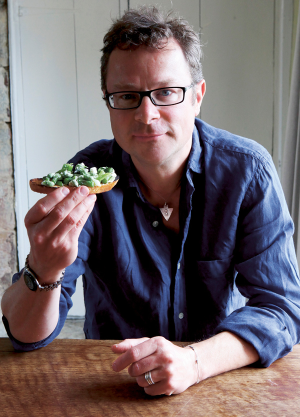 Hugh Fearnley-Whittingstall. Photo: Simon Wheeler