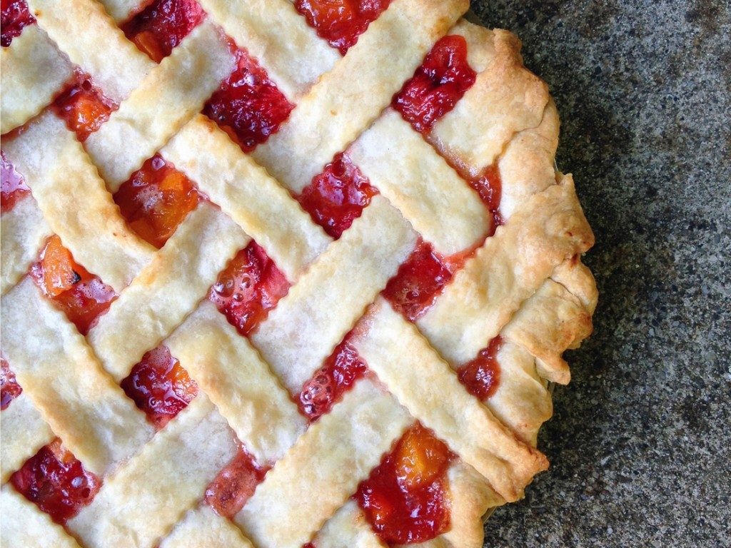 Strawberry Apricot Pie. Photo: Domenica Marchetti for NPR