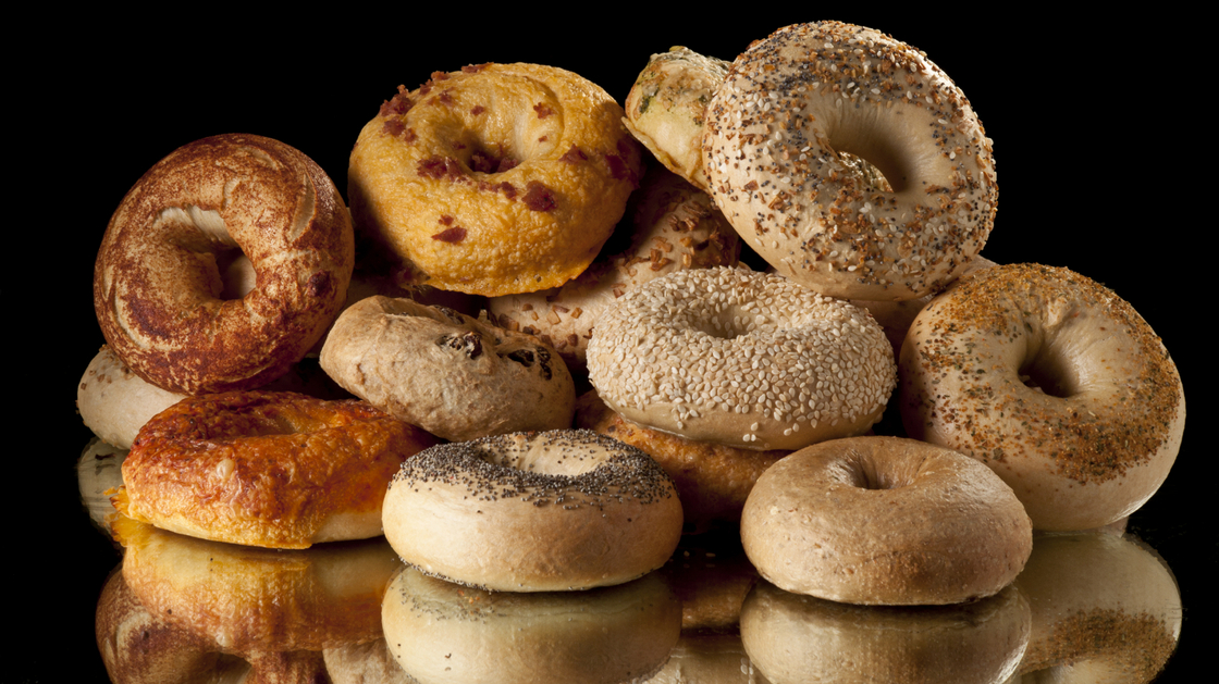 Eating refined carbohydrates like bagels may stimulate brain regions involved in reward and cravings, research suggests. Photo: iStockphoto.com