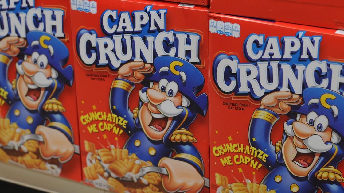 Say it ain't so, Cap'n. Photo: Quaker Oats Company/PepsiCo