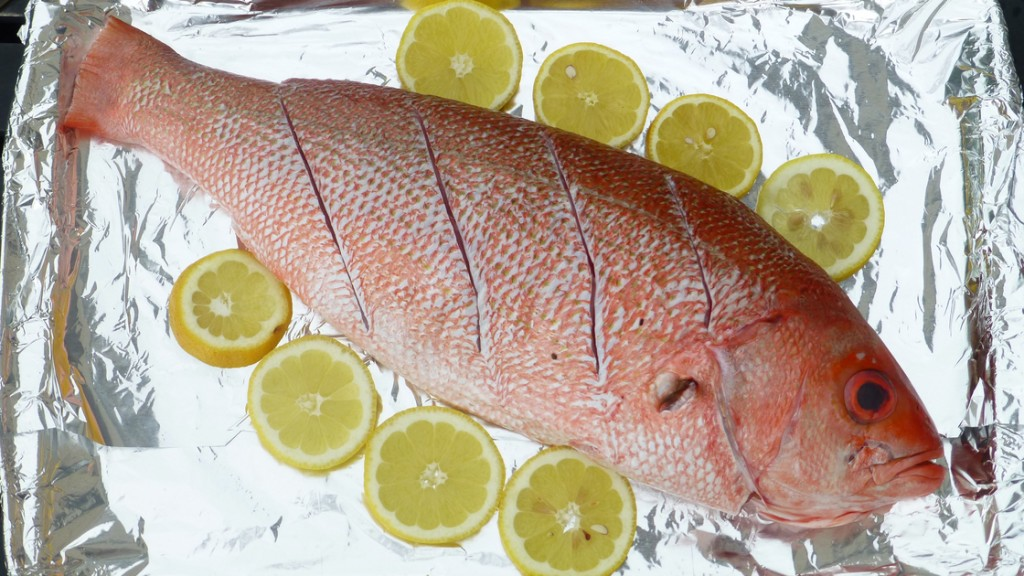 Whole Grilled Red Snapper. Photo: Peter Ogburn for NPR