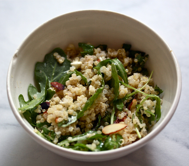 Rhubarb-Quinoa Salad. Photo: Nicole Spiridakis for NPR