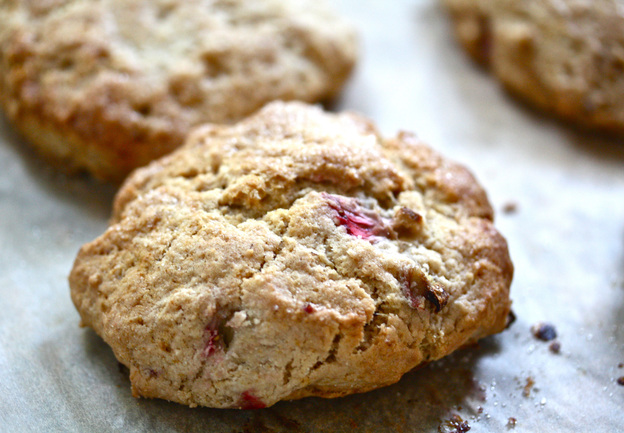 Rhubarb Scones. Photo: Nicole Spiridakis for NPR