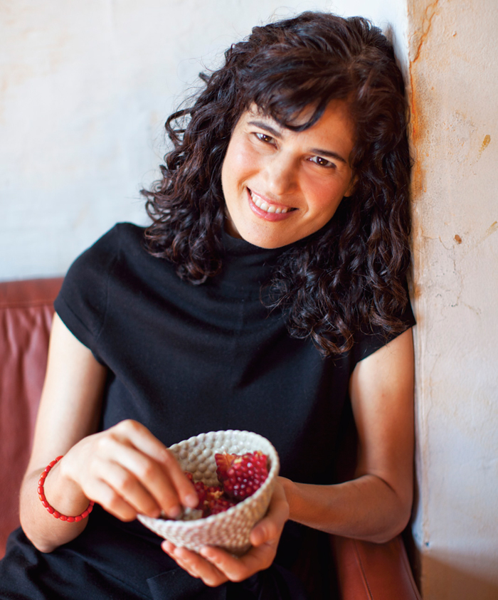 For her latest cookbook, Louisa Shafia learned recipes from extended family in L.A. Photo: Sara Remington