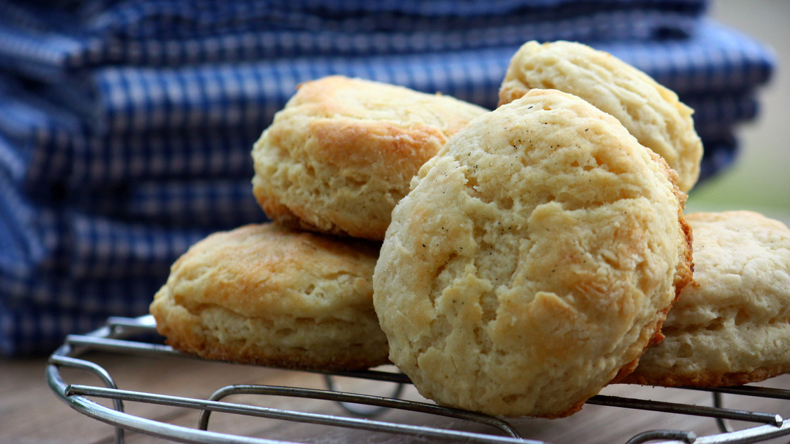 Double Fluffy Buttermilk Biscuits. Photo: T. Susan Chang