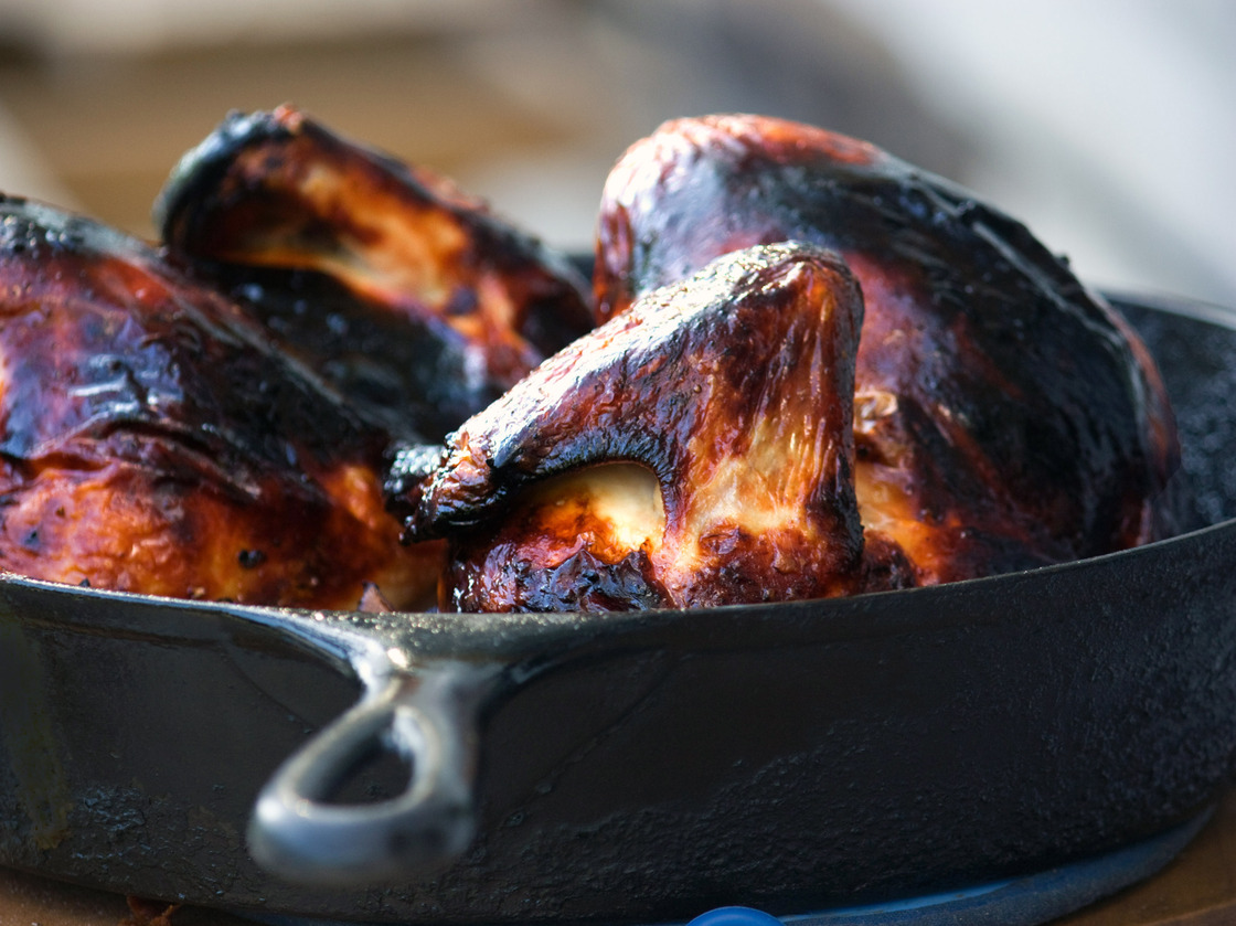 Buttermilk Roast Chicken. Photo: T. Susan Chang