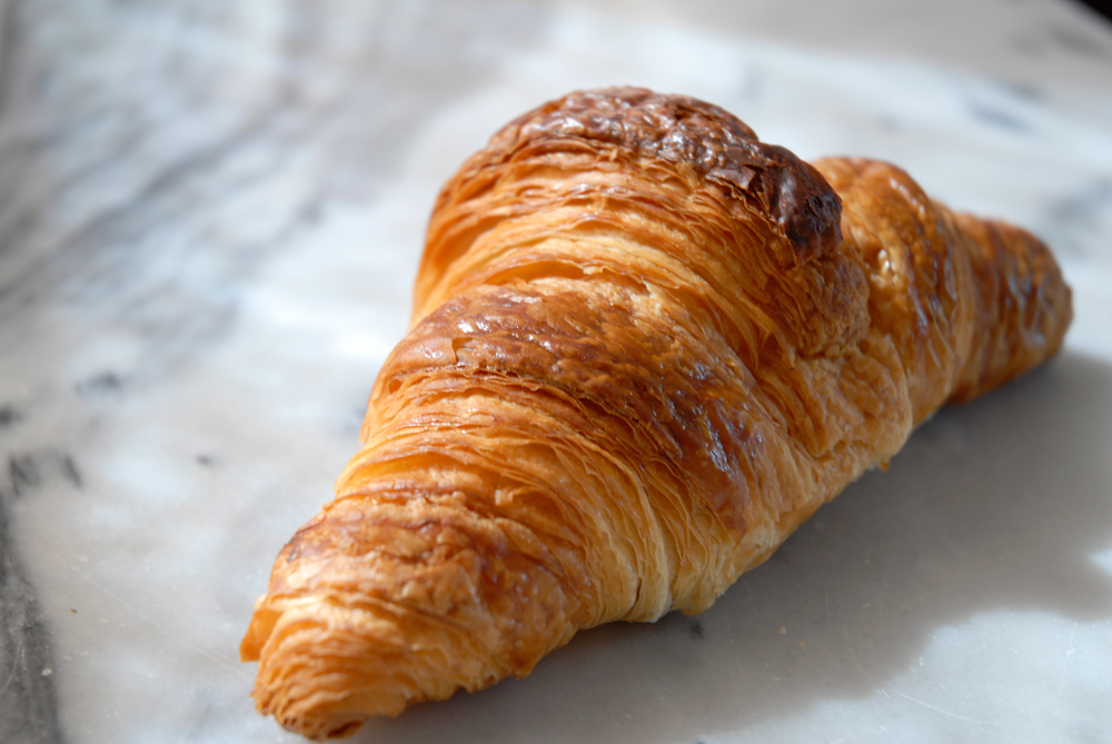 Croissant from Le Marais Bakery. Photo: Wendy Goodfriend