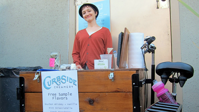 Curbside Creamery: A New Ice Cream Venture Rolls Into Oakland
