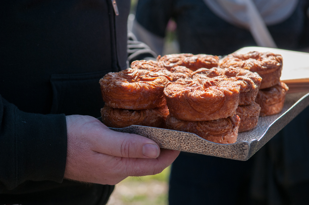 The kouign amann from Brian Wood of Starter Bakery has quite the cult following in the East Bay. Photo: Naomi Fiss