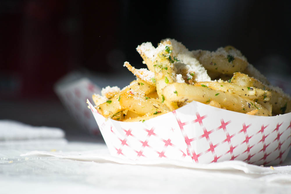 Garlic fries are popular at the Gilroy Garlic Festival. Photo: Sara Bloomberg