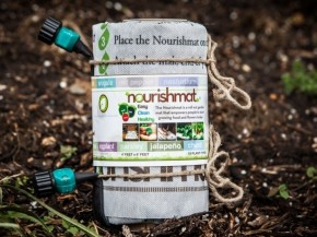 Earth Starter launched a Kickstarter campaign on July 1 to raise money to manufacture more Nourishmats. Photo: Courtesy of Earth Starter