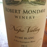 Robert Mondavi Winery, 2011 Napa Valley Fume Blanc $20