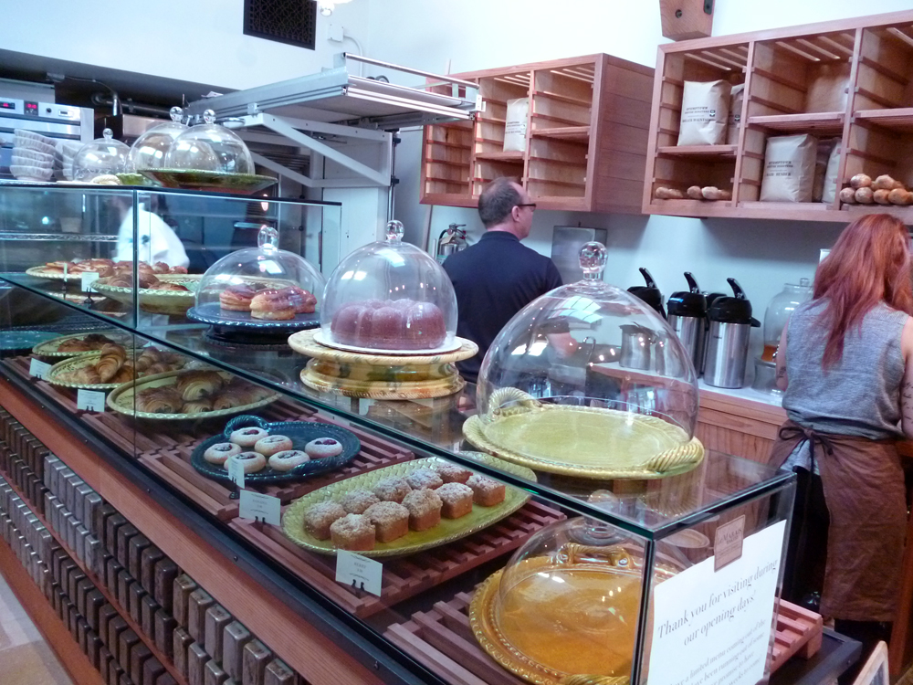 Pastry case at Le Marais Bakery. Photo: Stephanie Rosenbaum