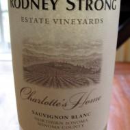 Rodney Strong, Charlotte's Home. 2012 Sonoma County Sauvignon Blanc. $12