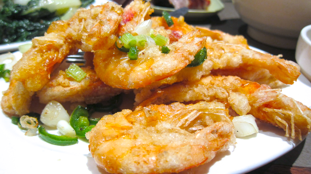 Spicy Salt-and-Pepper Shrimp Recipe — Dishmaps