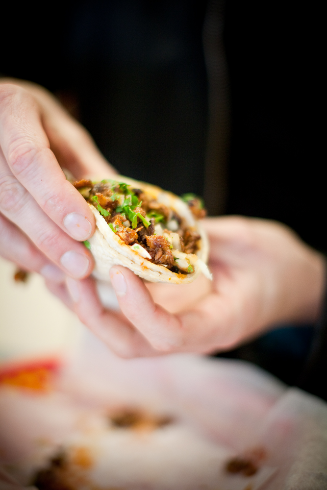 Lisa Rogovin favors simple fare such as tacos over fancy pants food. Photo: Robin Jolin