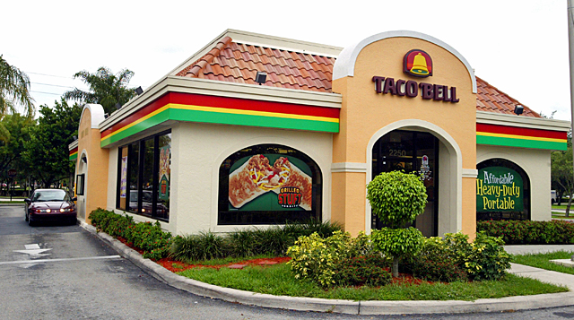 Taco Bell. Photo: Getty