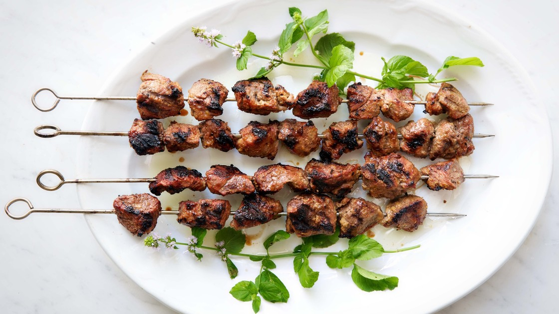 Punjabi Lamb Kebabs, like many tandoor dishes, can also be made on gas or charcoal grills. Photo: Christopher Hirsheimer