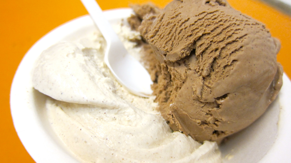 Cinnamon + Mexican Chocolate Ice Cream from Tara's Organic