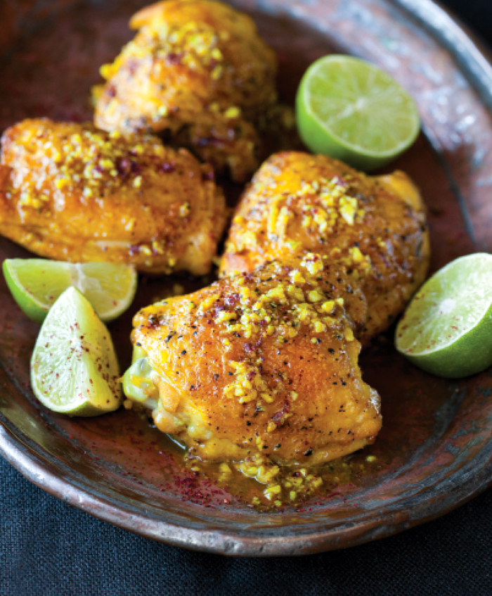 A chicken recipe that's simple and quick to prepare--and packs a lot of flavor. Photo: Sara Remington