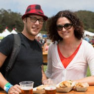 Lunching at Outside Lands