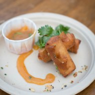 Pork Shrimp Egg Rolls from Brandon Jew