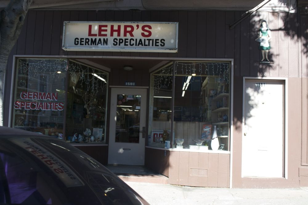 Lehr's German Specialties in San Francisco has been offering German and European specialty foods for nearly four decades. Photo by Sara Bloomberg